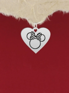 Сребърен медальон Мини Маус - GR17