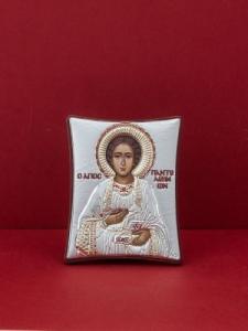 Сребърна икона - Св. Пантелеймон - 133TBR1FWA