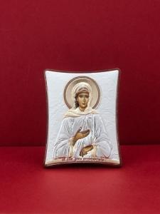 Сребърна икона - Св. Ксения - 139TBR1FWA