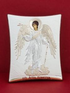 Сребърна икона - Св. Ангел Пазител - 148TBR1FWD