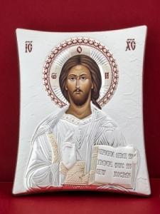 Сребърна икона - Исус Христос - 110TBR1FWE