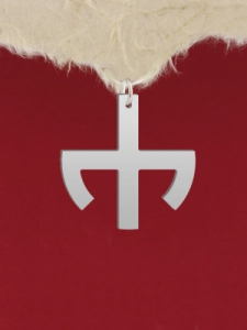 Сребърен медальон - GR39