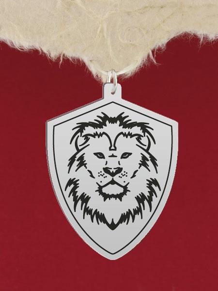 Сребърен медальон за гравиране - GR46