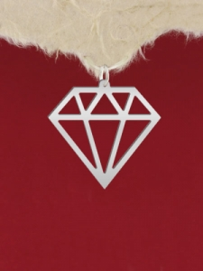 Сребърен медальон - GR57