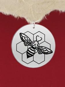 Сребърен медальон - GR68