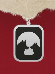 Сребърен медальон за гравиране - GR82