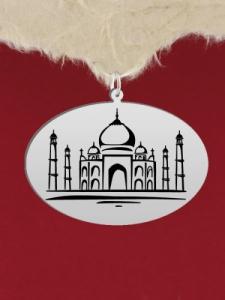 Сребърен медальон за гравиране - GR86