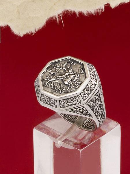 Сребърен пръстен - HMS030