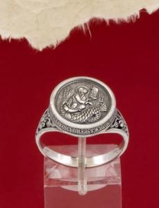 Сребърен пръстен - HMS031
