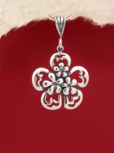 Сребърен медальон - PK248