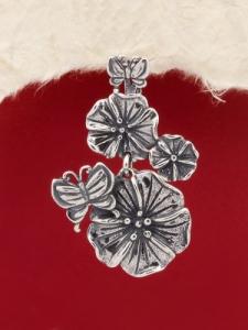 Сребърен медальон - PK246