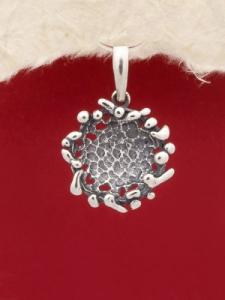 Сребърен медальон - PK249