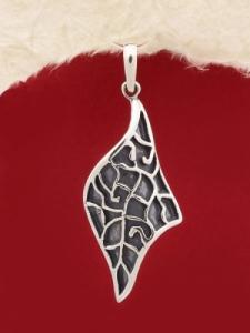 Сребърен медальон - PK251