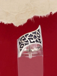 Сребърен пръстен - RK251