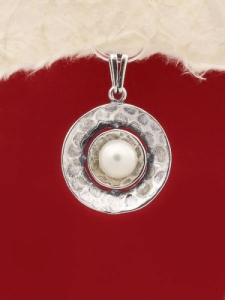 Сребърен медальон - PK256