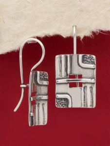 Сребърни обеци - EK115