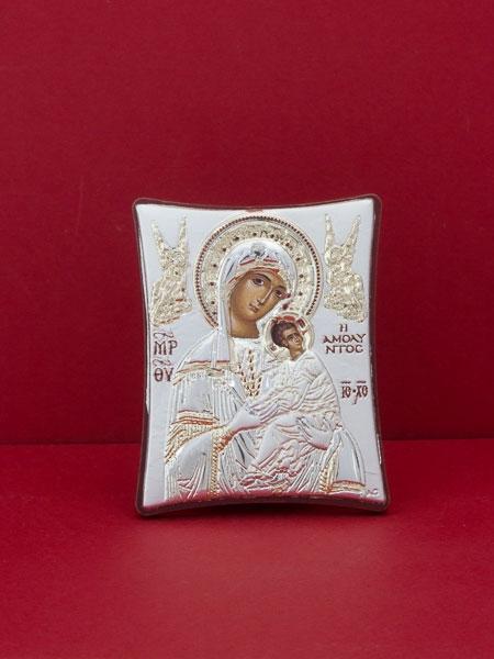 Сребърна икона - Св. Богородица -102TBR1FWA