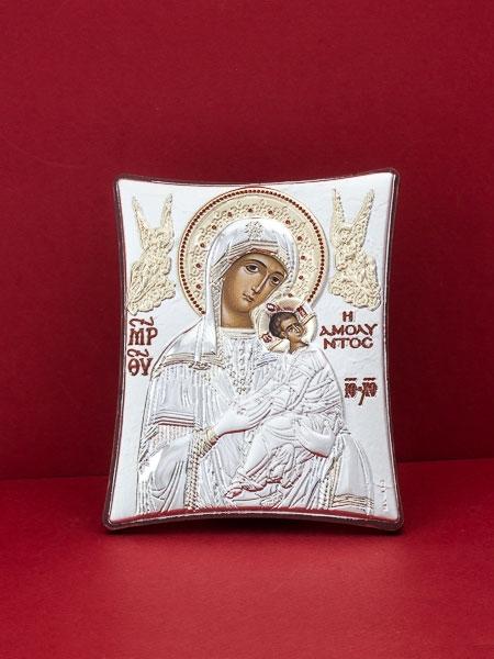 Сребърна икона - Св. Богородица-102TBR1FWB