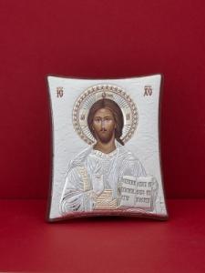 Сребърна икона - Исус Христос - 110TBR1FWA