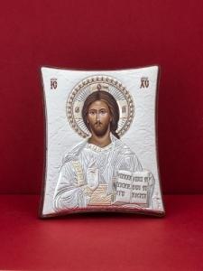 Сребърна икона - Исус Христос - 110TBR1FWB