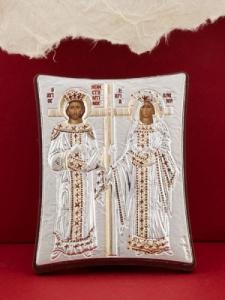 Сребърна икона - Св. Св. Константин и Елена - 112TBR1FWA