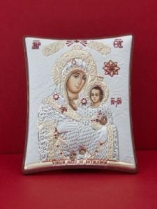 Сребърна икона Св. Богородица Витлеемска - 120TBR1FWC