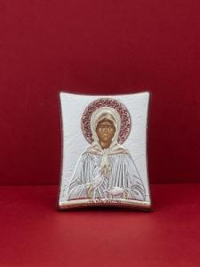 Сребърна икона на Св. Матрона Московска - 126TBR1FWAA
