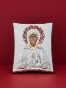 Сребърна икона на Св. Матрона Московска - 126TBR1FWB