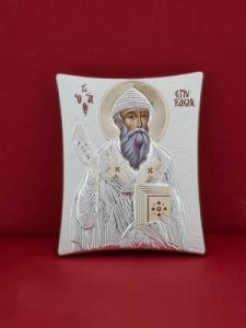 Сребърна икона - Св. Спиридон - 132TBR1FWA