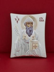 Сребърна икона - Св. Спиридон - 132TBR1FWB