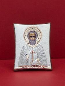 Сребърна икона на Св. Сергей - 143TBR1FWB
