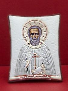 Сребърна икона на Св. Сергей - 143TBR1FWC