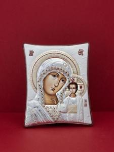 Сребърна икона - Пресвета Богородица - 144TBR1FWA