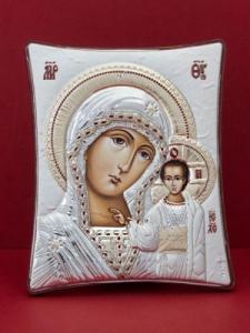 Сребърна икона - Пресвета Богородица - 144TBR1FWC