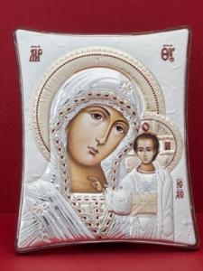 Сребърна икона - Пресвета Богородица - 144TBR1FWD