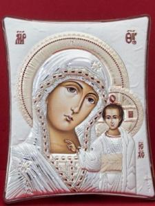 Сребърна икона - Пресвета Богородица - 144TBR1FWE