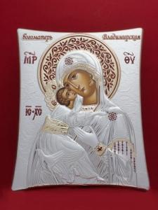 Сребърна икона - Пресвета Богородица - 146TBR1FWD