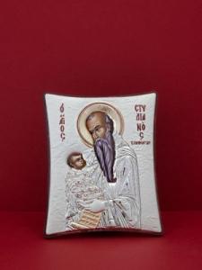 Сребърна икона - Св. Стилиян - 149TBR1FWA