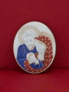 Икона от сребро Светото Семейство - 303OBR1FWB