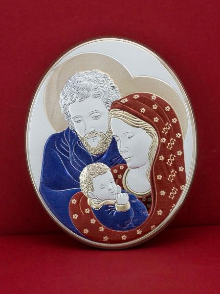 Икона от сребро Светото Семейство - 303OBR1FWC