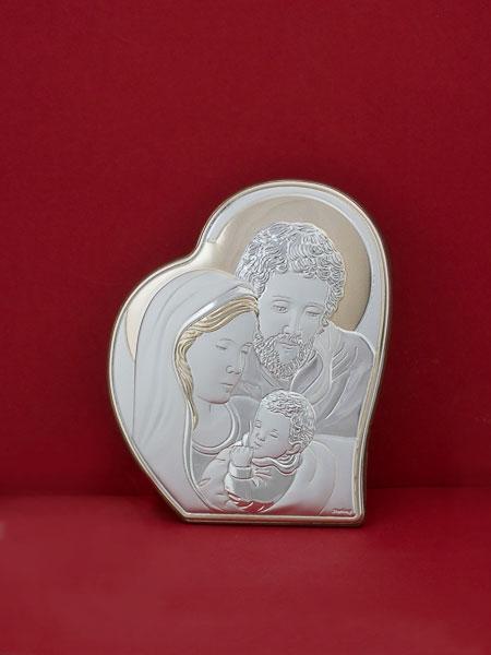 Икона от сребро Светото Семейство - 303HBR1FWA