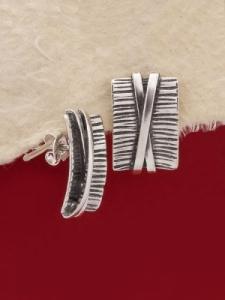 Сребърни обеци - E194S