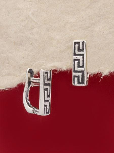 Сребърни обеци - E125S