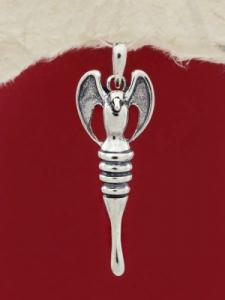 Сребърен медальон - P442