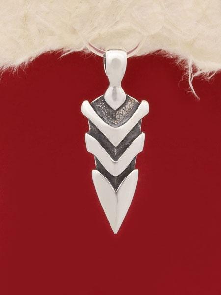 Сребърен медальон - P430