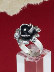 Сребърен пръстен RK239