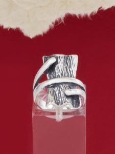 Сребърен пръстен - RK194