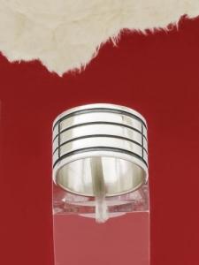 Сребърен пръстен - П18
