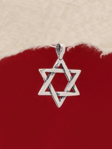 Сребърен медальон - P452