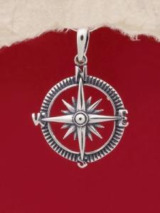 Сребърен медальон - P455